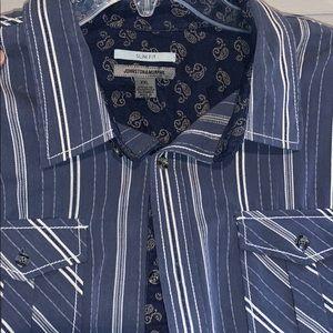 Johnston & Murphy men's button shirt XXL
